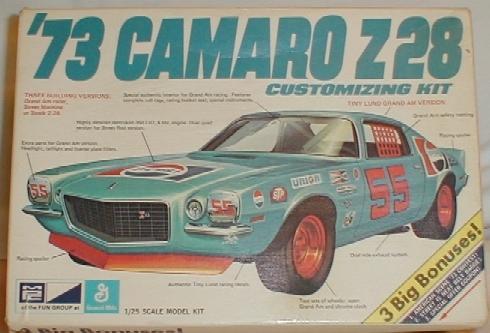 73 Camaro front bumper 73model2